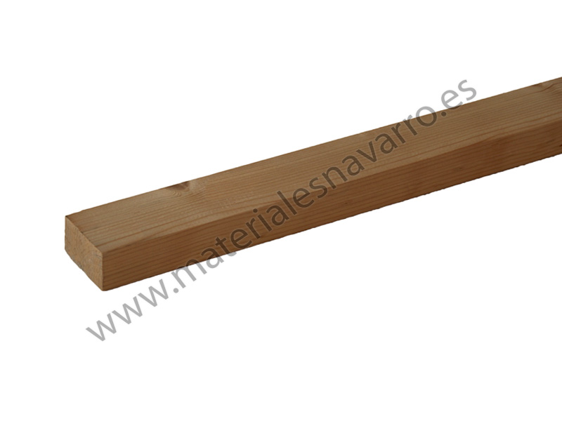 LISTON MADERA ARMARIO L=2,4M 70X45MM