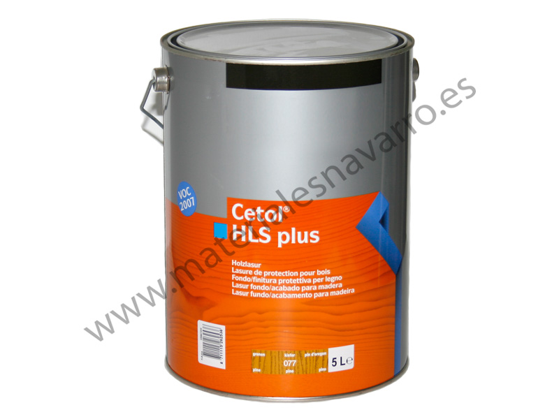CETOL HLS PLUS COLOR PINO 5L SIKKENS