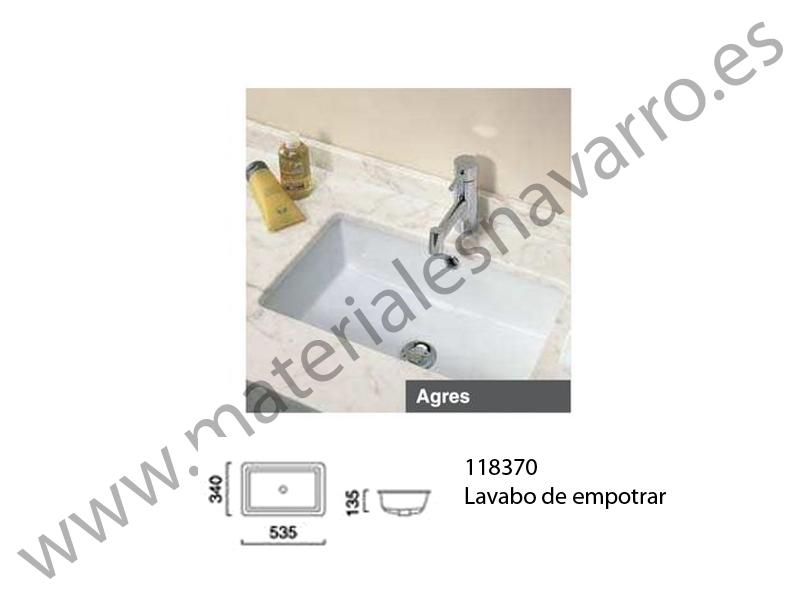 Lavabo Agres Unisan.Detalle Del Articulo Lavabo Agres 53 Blanco B Encimera Unisan