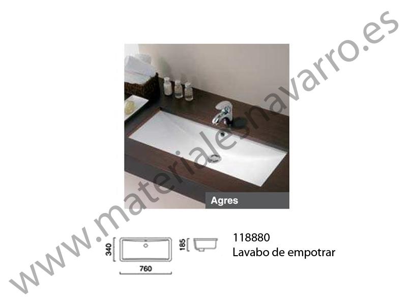 Lavabo Agres Unisan.Detalle Del Articulo Lavabo Agres 76 Blanco B Encimera Unisan